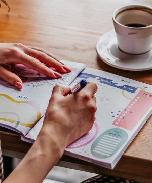 notebook, bujo, journal, porductivity